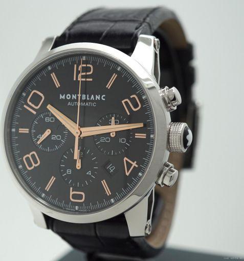Montblanc Timewalker Chronograph Automatic - full set - like new 101548 2012