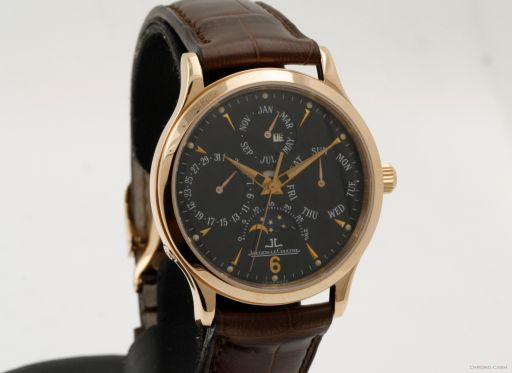 Jaeger-lecoultre Master Perpetual Calendar - Pink Gold - 2 Years Warranty -  Box 140.2.80.S