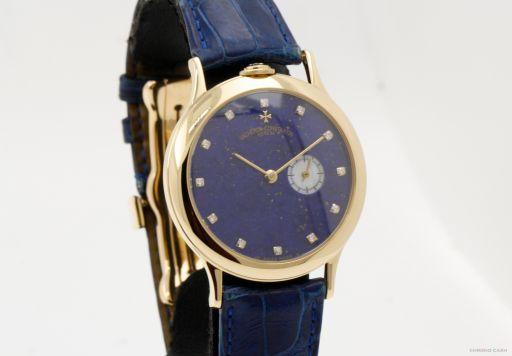 Vacheron Constantin Partimony - lapis lazuli and Diamond Dial 92012 -