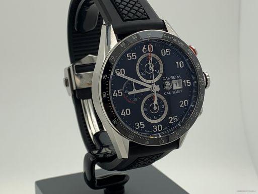 Tag Heuer Carrera Chronograph 43MM FullSet Unworn CAR2A10-1 -