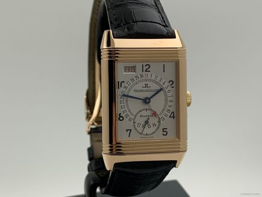 Jaeger-lecoultre Reverso Grande Taille Day Date Rosegold Like New 270.2.36 -