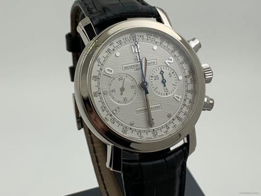 Vacheron Constantin Malte Chronograph White Gold 41.5MM FullSet Like New 47120/000G 2006