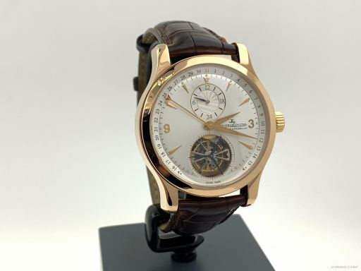 Jaeger-lecoultre Master Tourbillion Date Rosegold 41MM Automatic Like New 146.2.34.S -