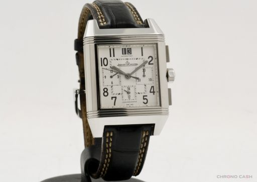 Jaeger-lecoultre Reverso Squadra - Chronograph - With Box - Very Good Condition - 2-Year Warranty 230.8.45